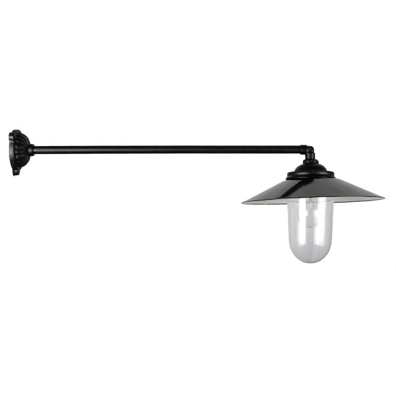 Rustic Lamp 90 Straight 77 cm Black