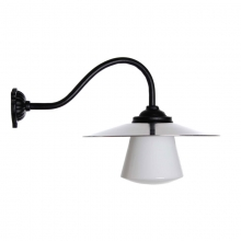 Station Lamp 90 Curved Short