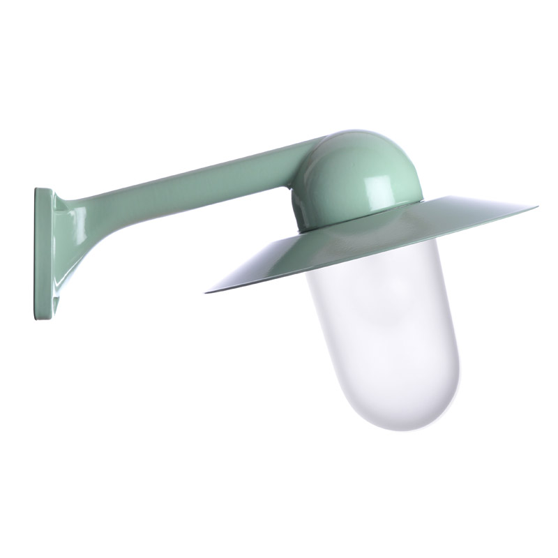 Trim Alu. 80 Green Slim Frosted Col Shade