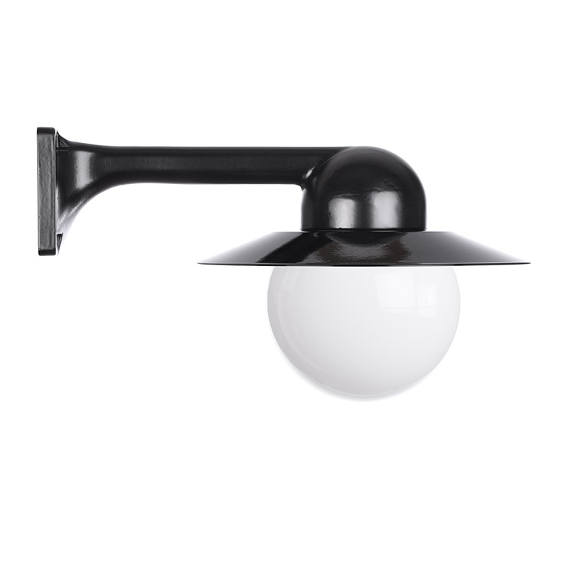 Trim Alu. 90 Black Globe 150 Col Shade