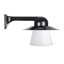Trim Alu. 90 Black Conical Col Shade