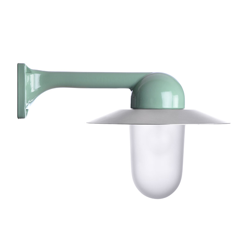 Trim Alu. 90 Green Slim Frosted Alu Shade