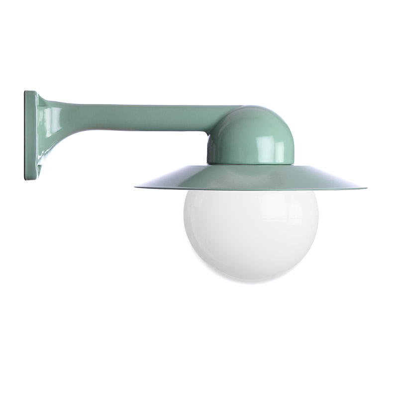 Trim Alu. 90 Green Globe 150 Col Shade