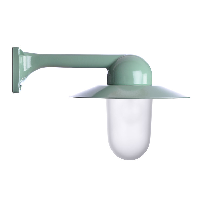 Trim Alu. 90 Green Slim Frosted Col Shade